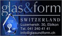 glas&form Switzerland
