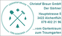 Christof Braun GmbH Der Gärtner